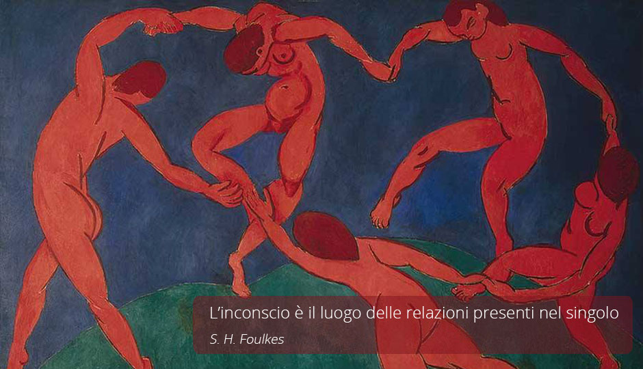 L'inconscio è il luogo delle relazioni presenti nel singolo. S. H. Foulkes